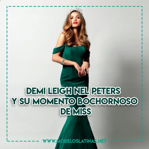 Demi-Leigh Nel-Peters y su momento bochornoso de Miss