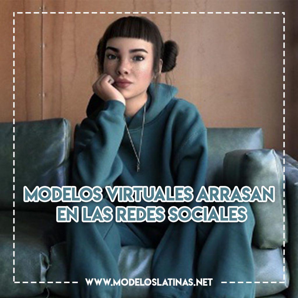 Modelos virtuales arrasan en las redes sociales