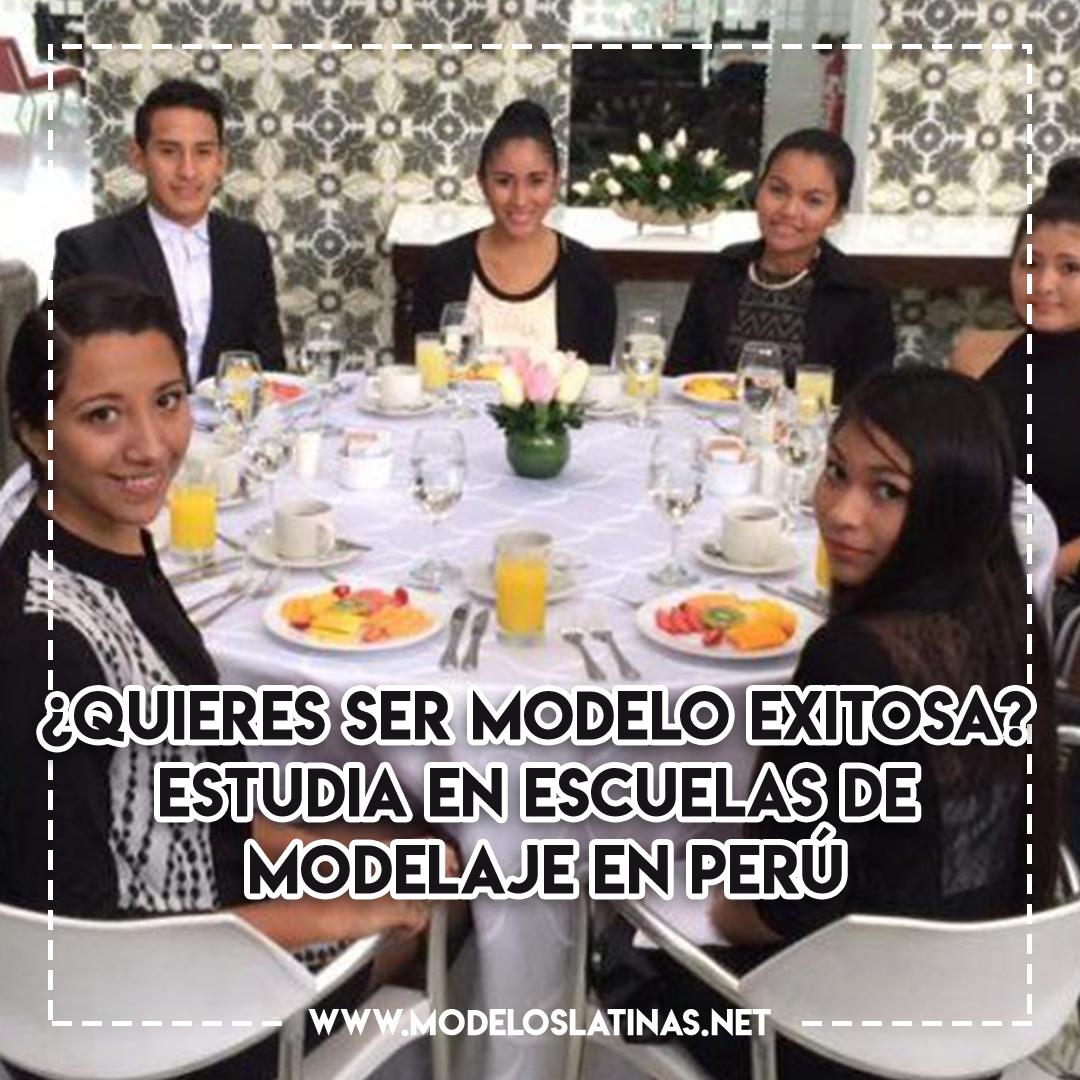 ¿Quieres ser modelo exitosa? Estudia en escuelas de modelaje en Perú