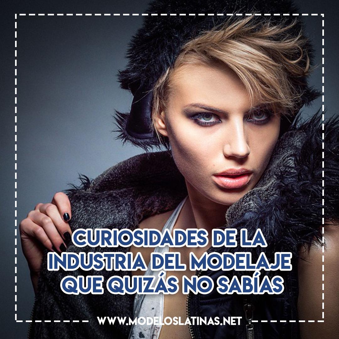 Industria del modelaje