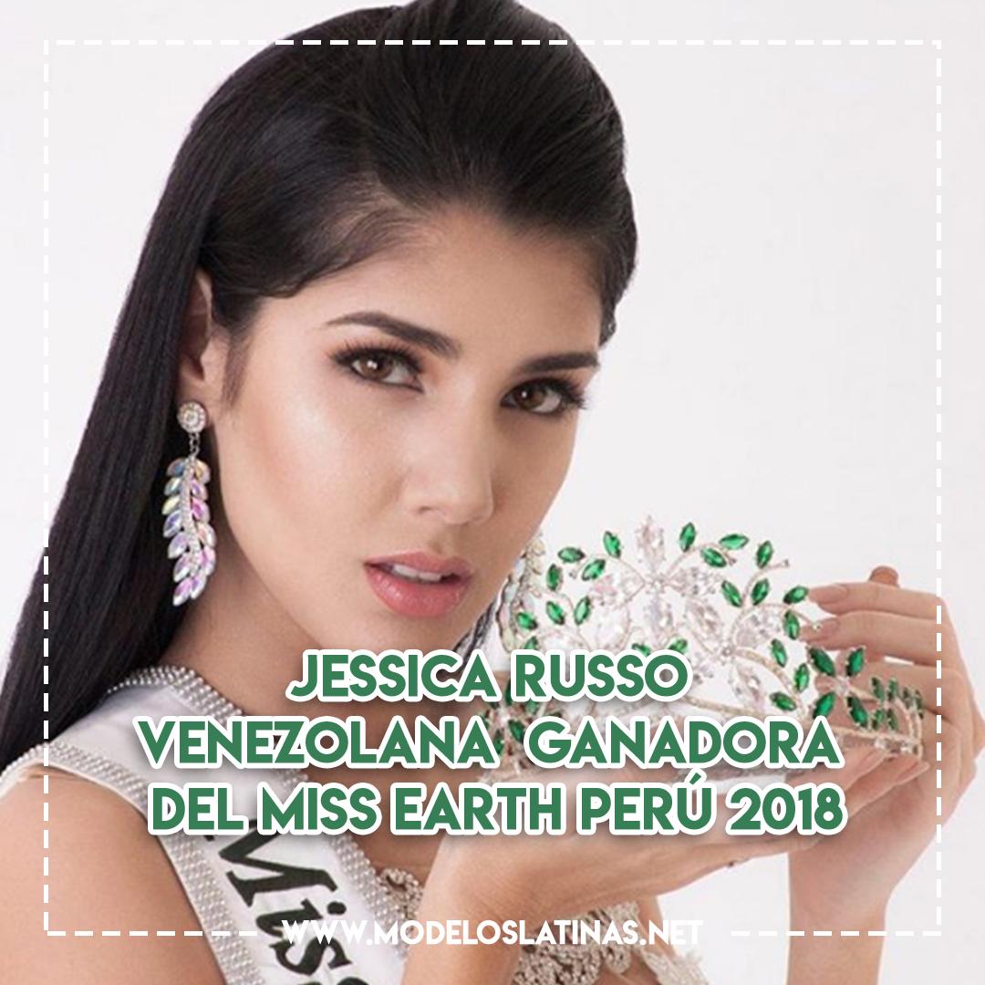 Jessica Russo: venezolana ganadora del Miss Earth Perú 2018