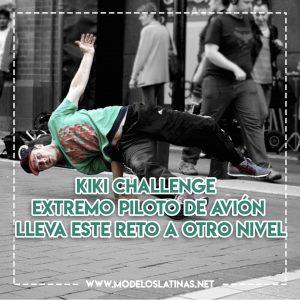 Kiki Challenge extremo: piloto de avión lleva este reto a otro nivel