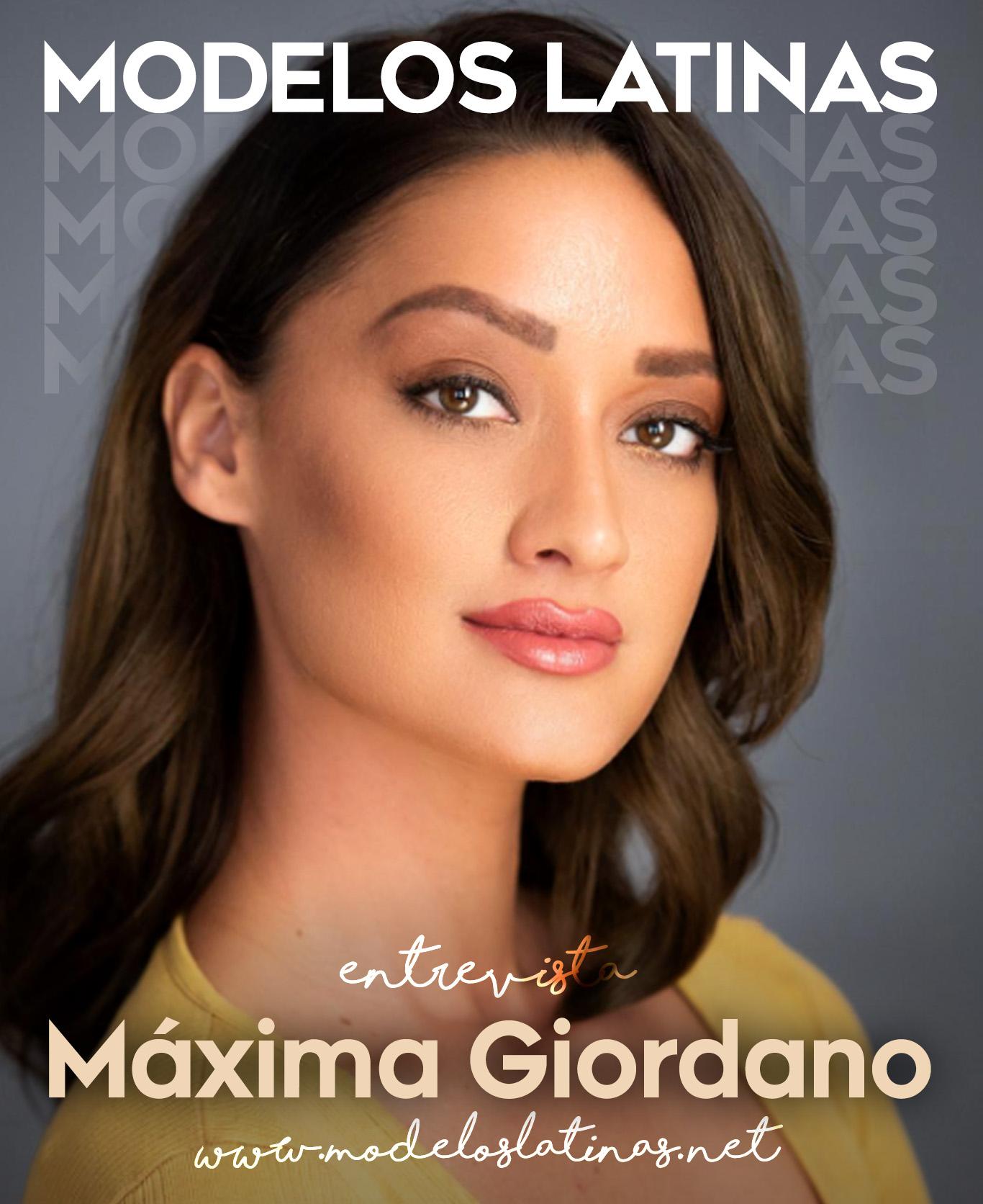 Maxima Giordano: actriz y modelo orientada al éxito