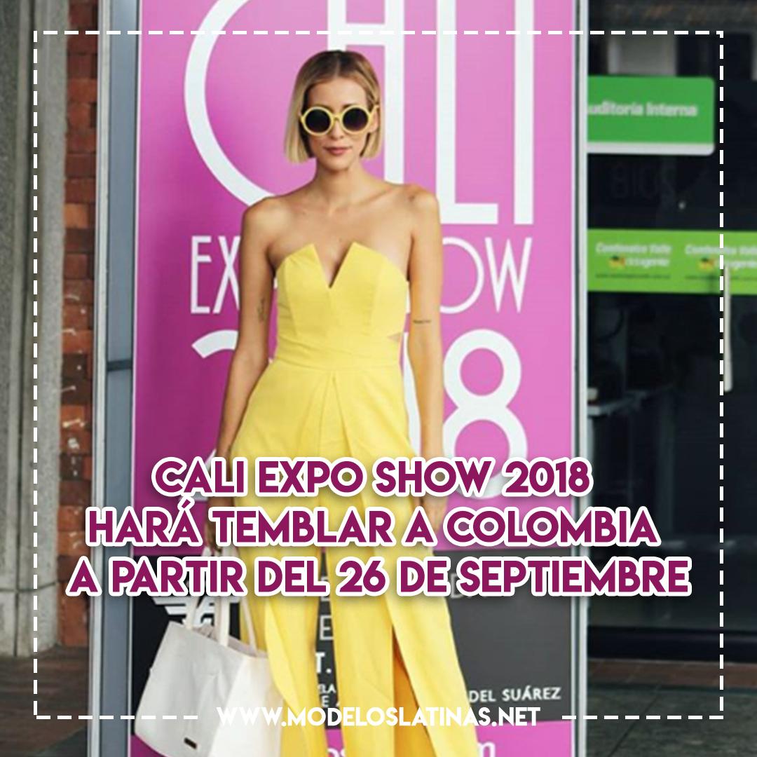 Cali Expo Show 2018 hará temblar a Colombia a partir del 26 de septiembre