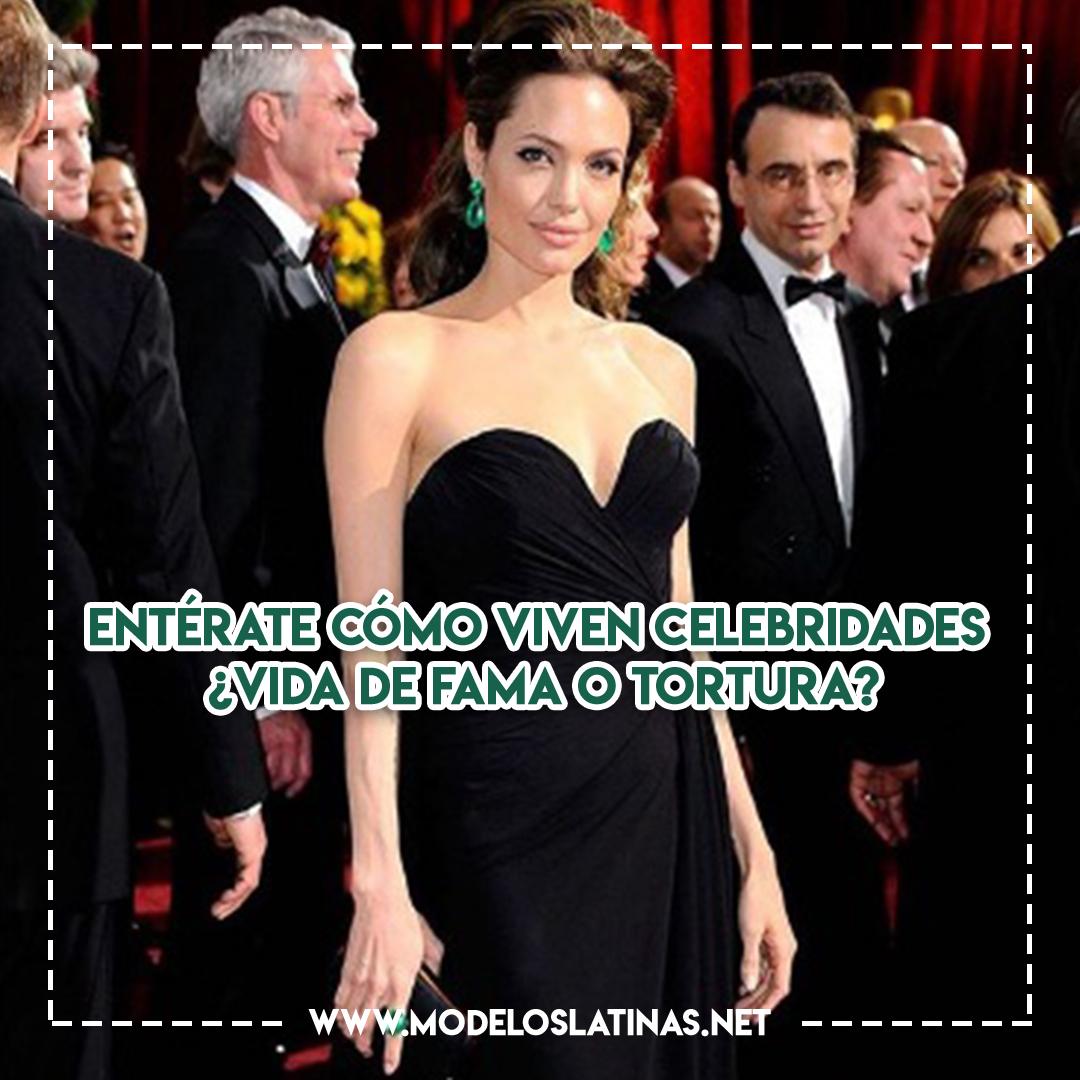 Entérate cómo viven celebridades ¿Vida de fama o tortura?