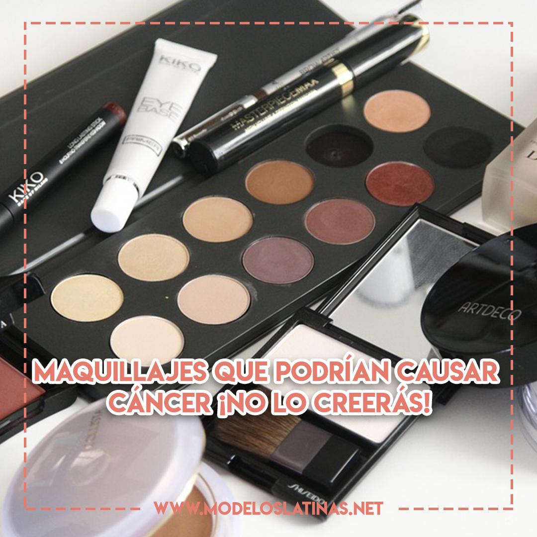 Maquillajes que podrían causar cáncer, ¡no lo creerás!