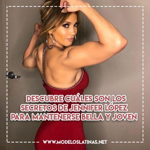 Descubre cuáles son los secretos de Jennifer López para mantenerse bella y joven