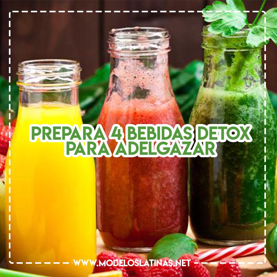 Bebidas detox