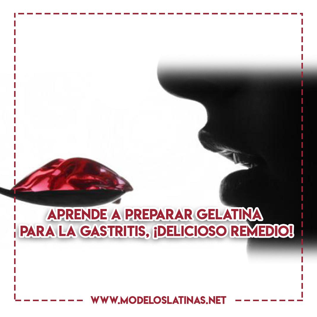 Gelatina para la gastritis