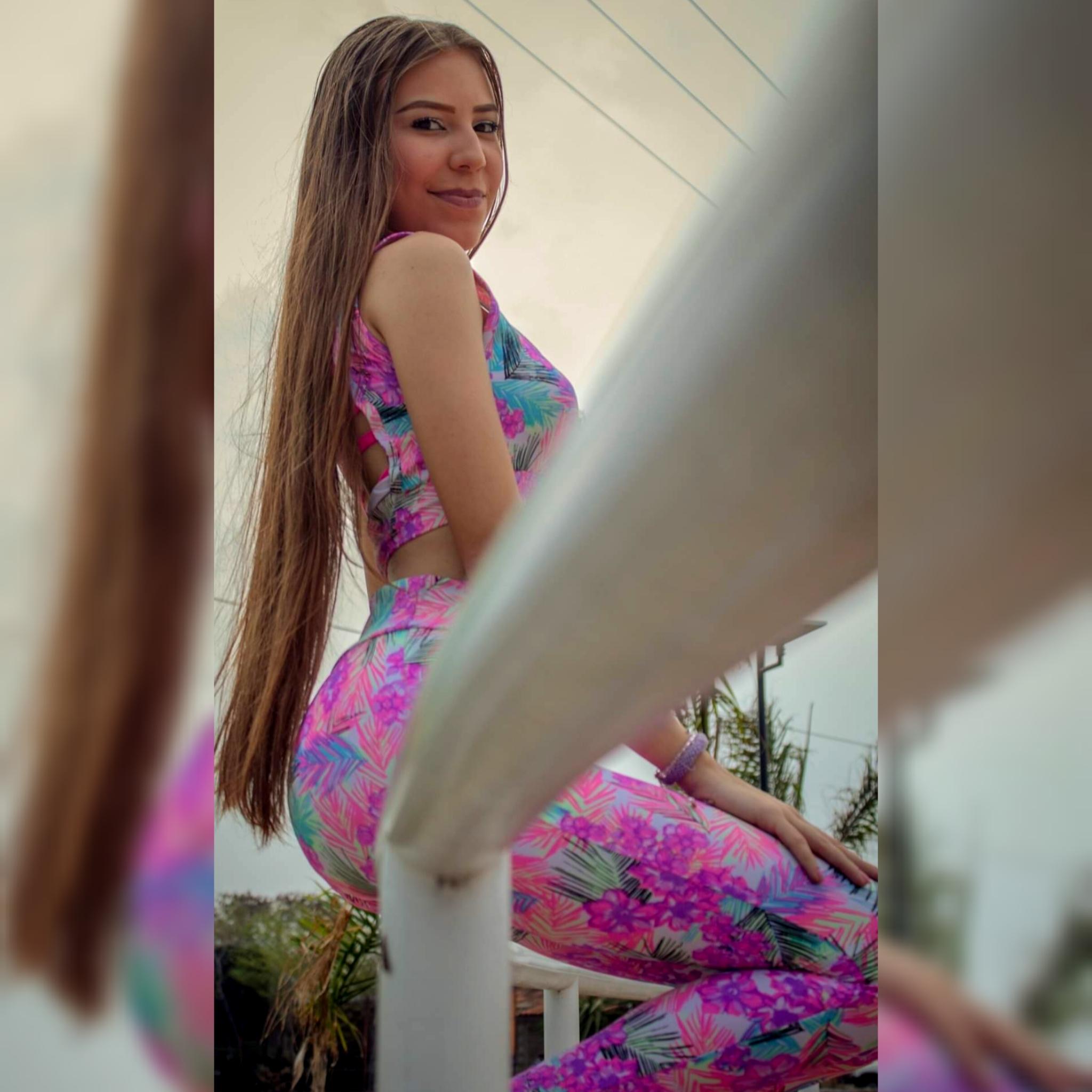 Catalina Ortiz: modelo con habilidad para el baile