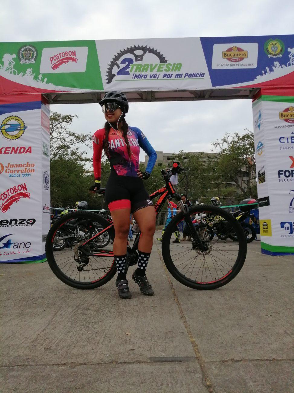 Alejandra Benítez: deportista compinche de la bicicleta