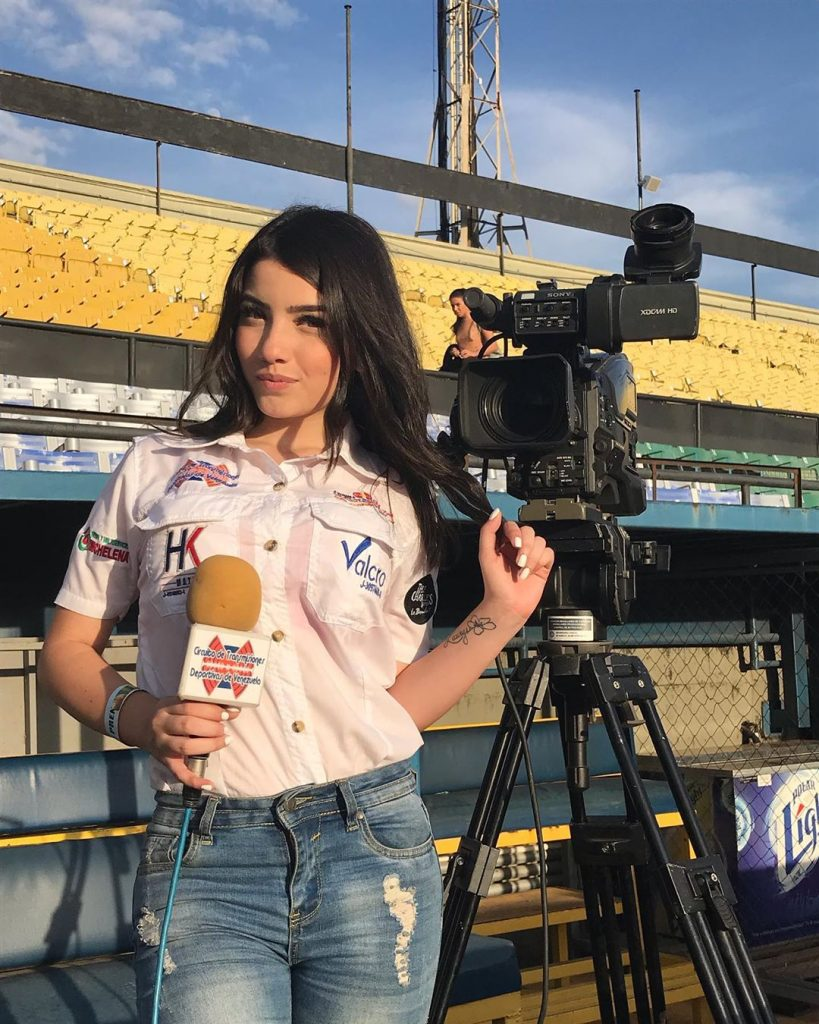 Irimar Martínez: venezolana fanática del modelaje y béisbol